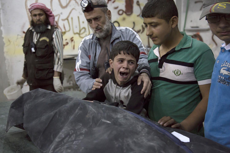 Aleppo civili genocidio