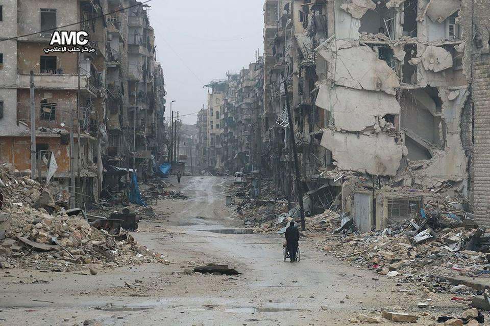 Aleppo est sotto assedio, 2 dicembre 2016