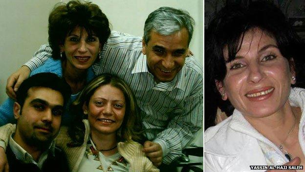 Samira al-Khalil (in alto a sinistra e nella foto a destra)