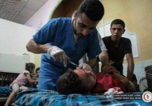 Bombardamenti sul Ghouta orientale, Siria, 29 settembre 2017